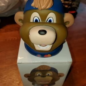 Chicago Cubs Mascot Clark Bank